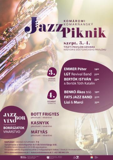 Plakat jazzpiknik masolat