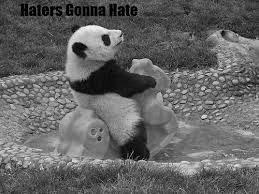 Panda bw