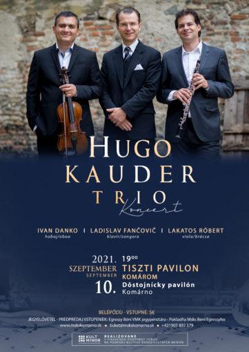 Hugo Kauder Trio koncert 2021 s KN